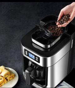 Coffee Machine Espresso With Coffee Grinder